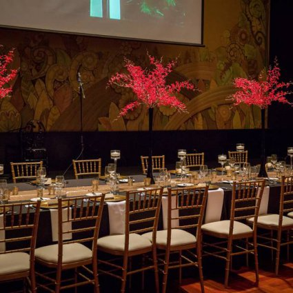 The Eglinton Grand featured in Amy and Kiet's Sophisticated Art Deco Wedding at Eglinton Grand