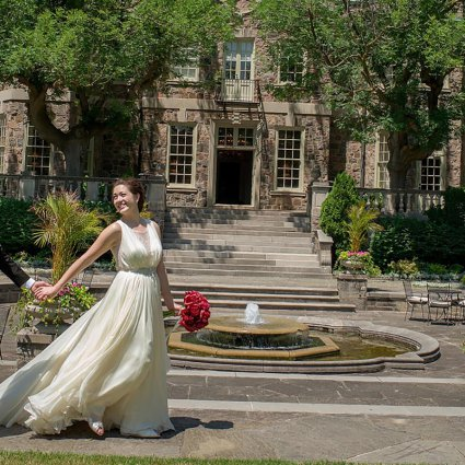 Thumbnail for Amy and Kiet's Sophisticated Art Deco Wedding at Eglinton Grand