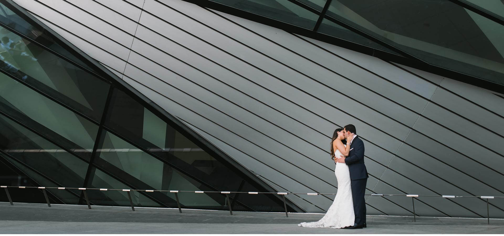 Hero image for Alanna and Shmuel's Elegant White Wedding at The Four Seasons Hotel