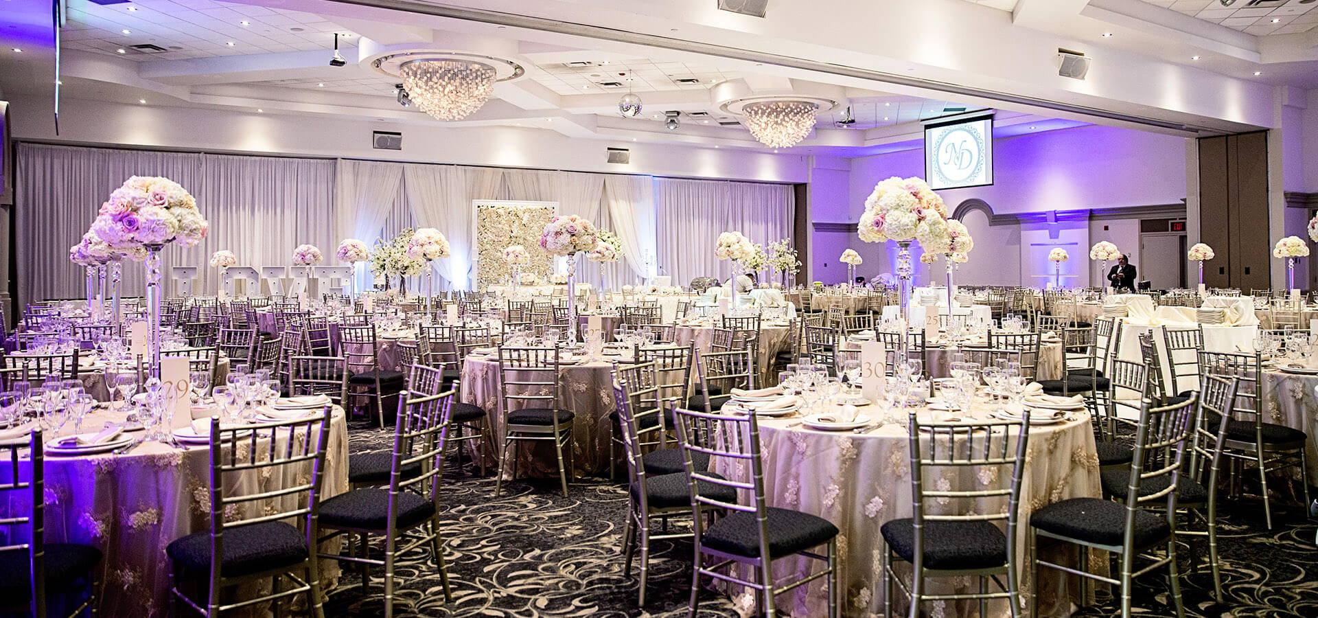 Hero image for Nikki and Daniel's Elegant Wedding at Fontana Primavera Event Centre