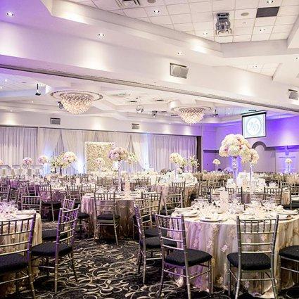 Right Choice Linen Rentals featured in Nikki and Daniel's Elegant Wedding at Fontana Primavera Event…