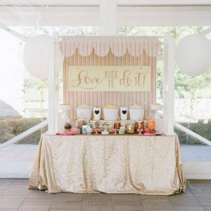 Sweet Bash Co. featured in Erica and Enho's Vineyard Wedding at Château des Charmes