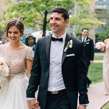 Alissa and Jason's Elegant Gatsby Wedding at Eglinton Grand