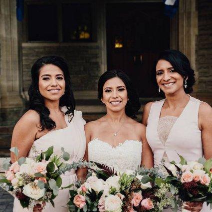 Sara Baig Designs featured in Aliya and John's Dreamy Wedding at Casa Loma