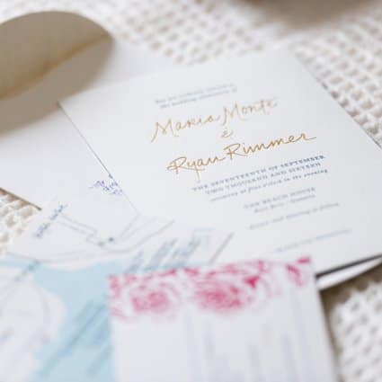 Ferris Wheel Press featured in Toronto Stationery Designers Share Their Favourite Invitation…