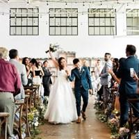 Julia and Elgin's Whimsical Wedding at Airship 37