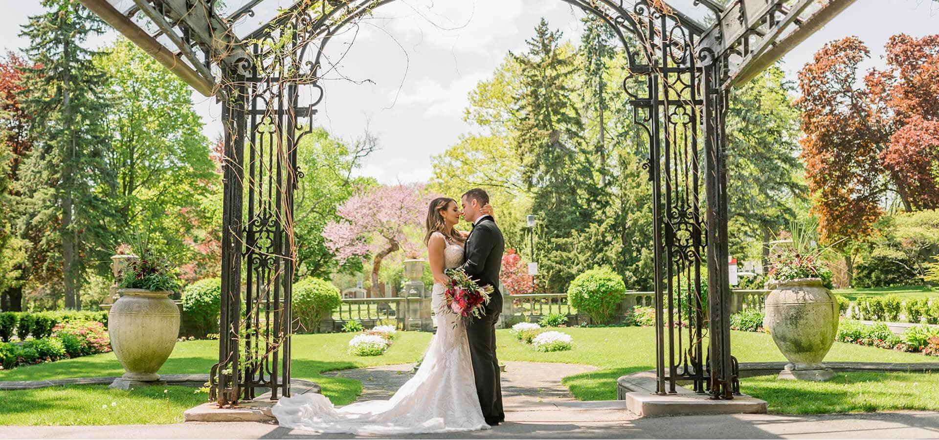 Hero image for Lauren & Michael's Elegant Fairy Tale Wedding at Grand Luxe