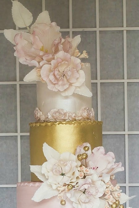 toronto cake designers share 2017 wedding cakes, 29