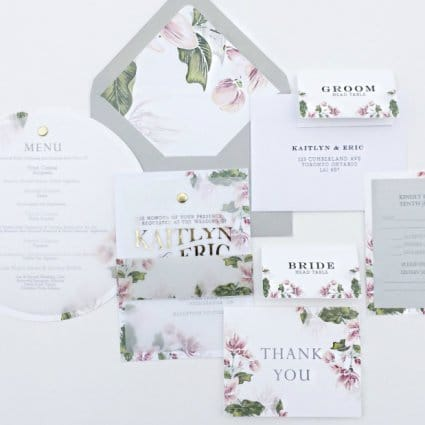 Ivorie Paperie featured in Toronto Stationery Designers Share Their Favourite Invitation…