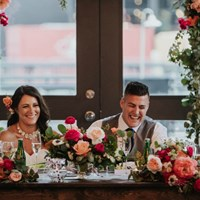 Ashton and Matt's Urban Chic Wedding at Steam Whistle Brewery