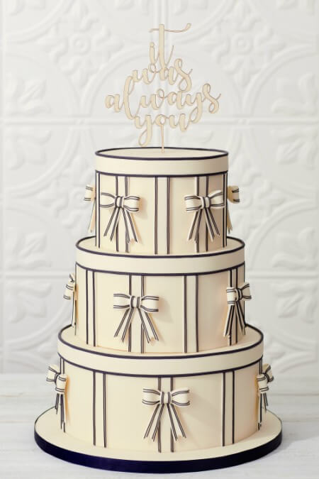 toronto cake designers share 2017 wedding cakes, 17