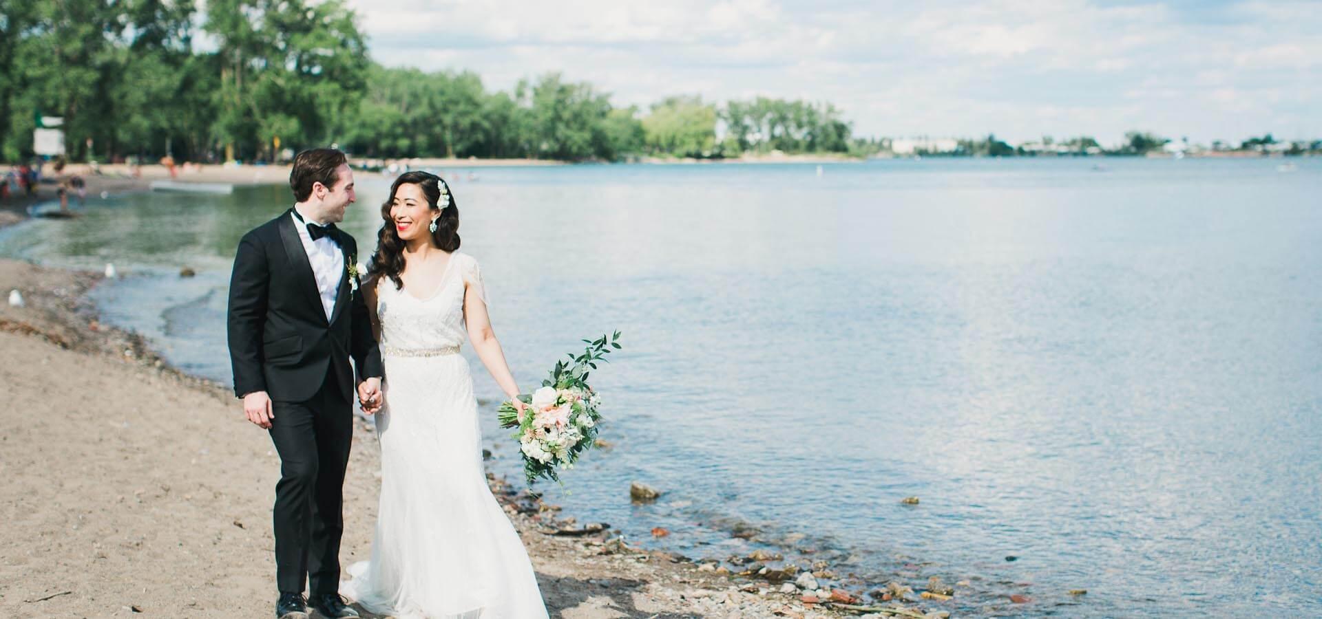 Hero image for Trina and Adam's Sweet Wedding at the Berkeley Church