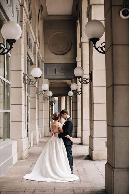 Alissa and Jason's Elegant Gatsby Wedding at Eglinton Grand 50