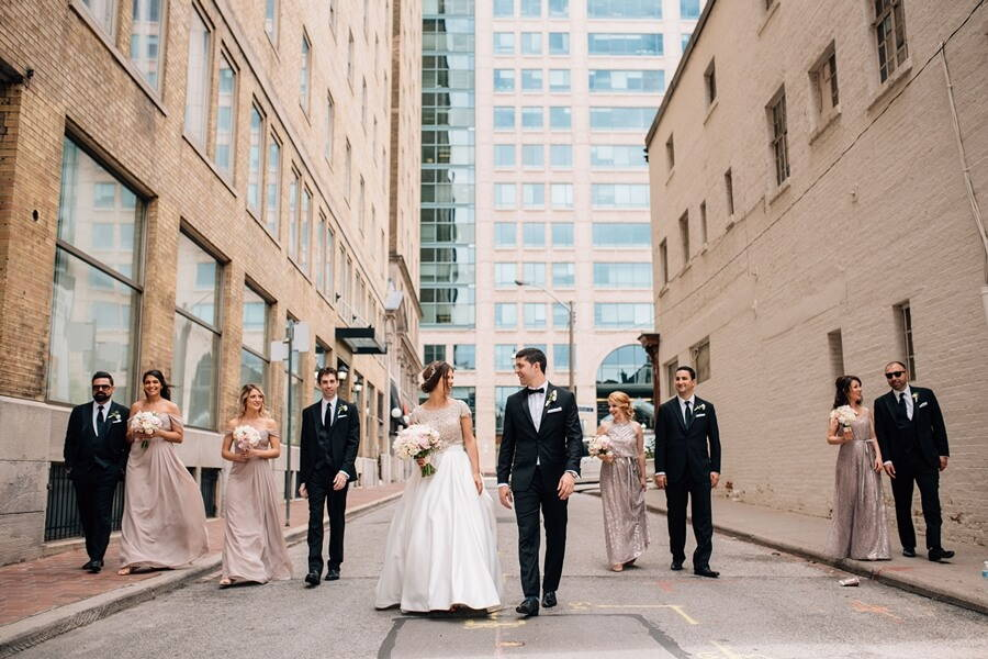 Alissa and Jason's Elegant Gatsby Wedding at Eglinton Grand 53