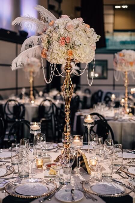 Alissa and Jason's Elegant Gatsby Wedding at Eglinton Grand 62