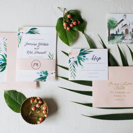Peartree and Clover featured in Toronto Stationery Designers Share Their Favourite Invitation…