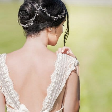Beauty By Sabrina featured in Style Shoot: A '60s Italian Summer Wedding