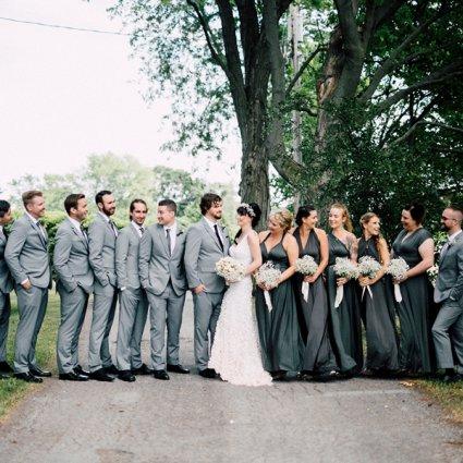 Honsberger Estate featured in Sam and Scott's Effortlessly Elegant Wedding at Honsberger Es…