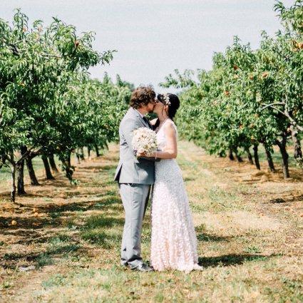 Thumbnail for Sam and Scott's Effortlessly Elegant Wedding at Honsberger Es…
