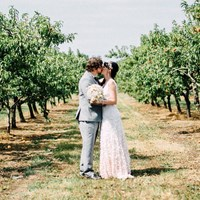 Sam and Scott's Effortlessly Elegant Wedding at Honsberger Estate