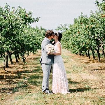 Sam and Scott's Effortlessly Elegant Wedding at Honsberger Estate
