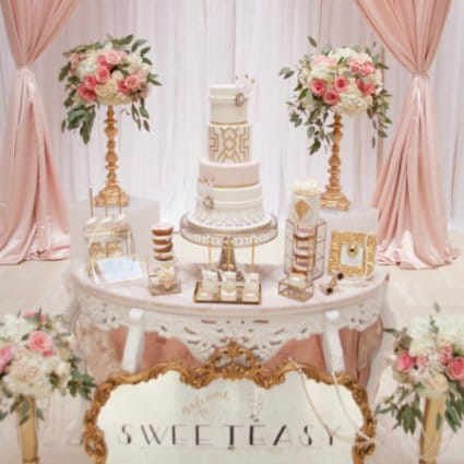 The Sweetest Thing Cakes featured in Toronto Cake Designers Share Their Favourite Wedding Cakes Fr…