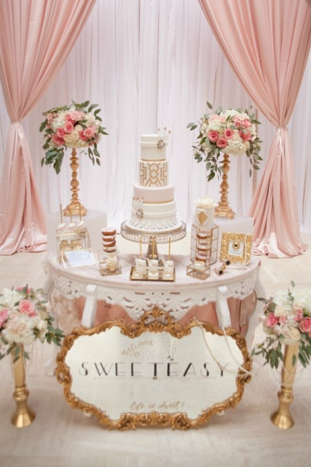 toronto cake designers share 2017 wedding cakes, 13