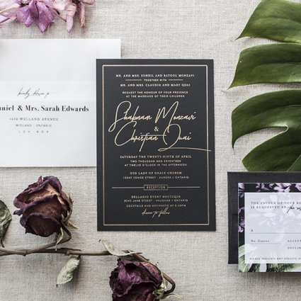 Utility House Design featured in Toronto Stationery Designers Share Their Favourite Invitation…