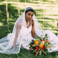 Boho Chic, Eco-Friendly Style Shoot: Cemented in Love