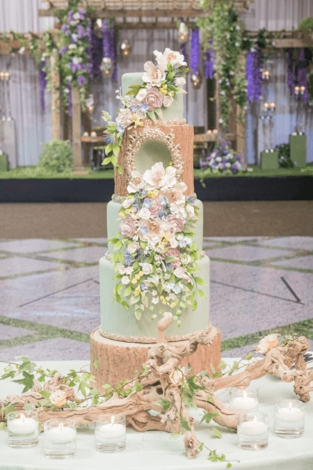 toronto cake designers share 2017 wedding cakes, 24