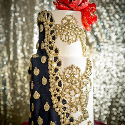 SK Confectionery featured in Toronto Cake Designers Share Their Favourite Wedding Cakes Fr…