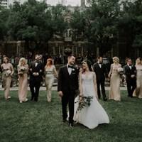 Katie and Ken's Romantic Wedding at Graydon Hall Manor