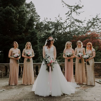 Blooming Floral Design featured in Katie and Ken's Romantic Wedding at Graydon Hall Manor