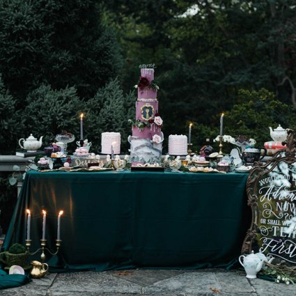 Cakelaine featured in A Stunning Alice in Wonderland Inspired Style Shoot