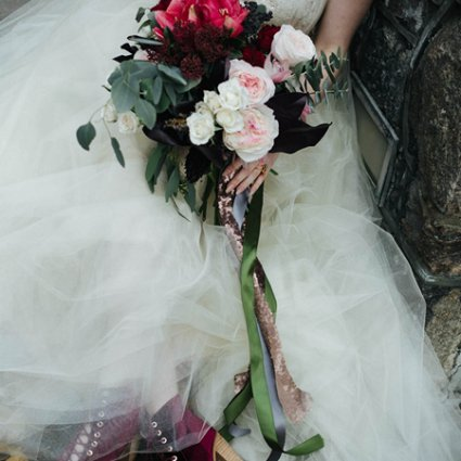 Blossom Moments featured in A Stunning Alice in Wonderland Inspired Style Shoot