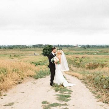 Caitlin and Josh's Dreamy Barn Wedding at Earth To Table Farm
