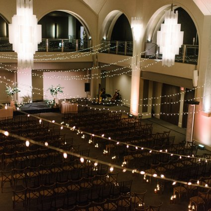 Arcadian Court featured in Lindsay and Andrew's Rustically Romantic Wedding at Arcadian …