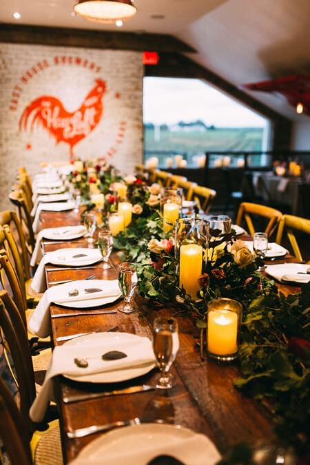 Ashton and Clayton's Romantic Wedding at Oast House Brewery 48