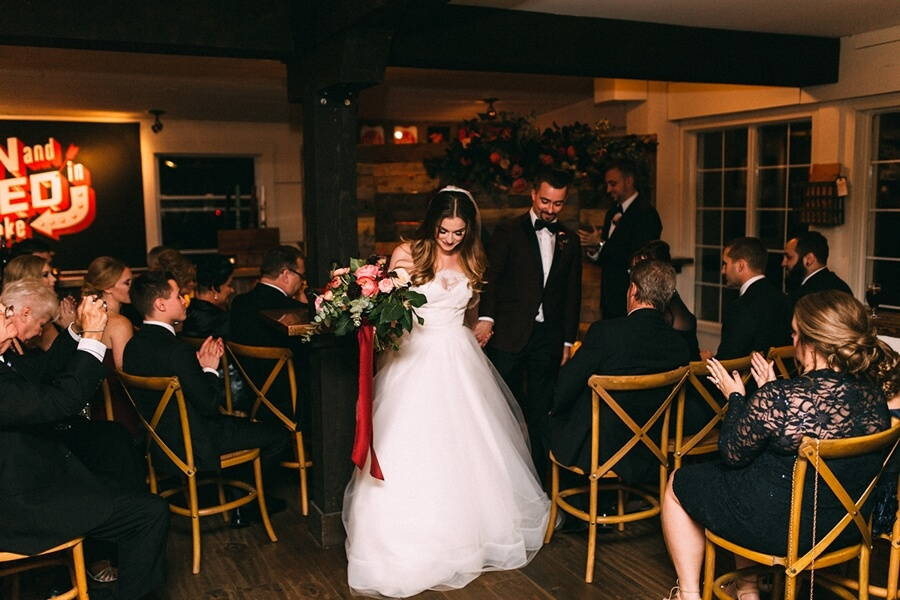 Ashton and Clayton's Romantic Wedding at Oast House Brewery 42