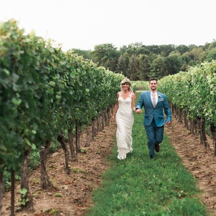 Destiny Dawn Photography featured in Mikylah and Kyle's Bohemian Style Wedding at Gracewood Estates