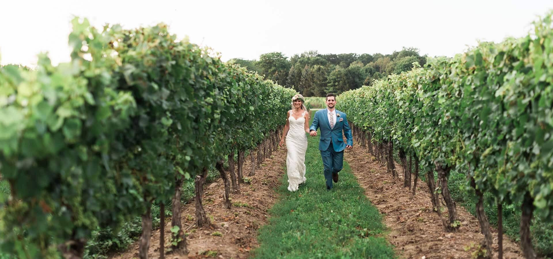 Hero image for Mikylah and Kyle's Bohemian Style Wedding at Gracewood Estates