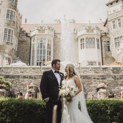 Thumbnail for Brenna and Dave's Dreamy Castle Wedding at Casa Loma
