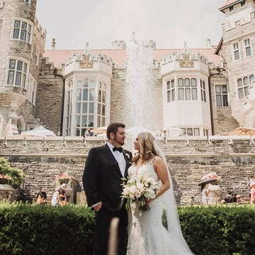 Brenna and Dave's Dreamy Castle Wedding at Casa Loma