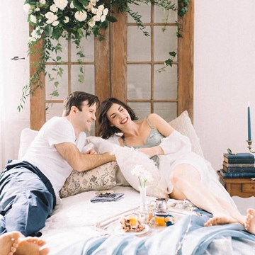"Style Shoot: The Morning After You Say Your ""I Do's"""