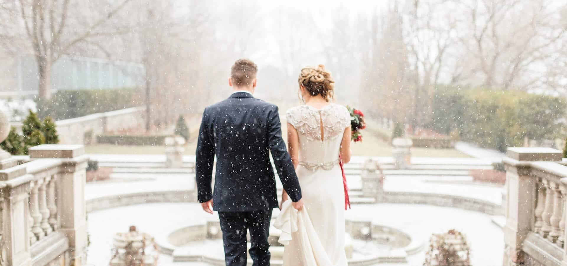 Hero image for Tiana and Joe's Elegant Wedding at Graydon Hall Manor