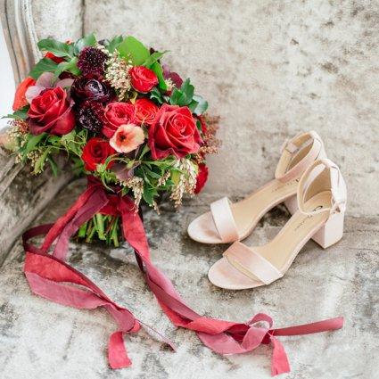 Sweet Woodruff featured in Tiana and Joe's Elegant Wedding at Graydon Hall Manor