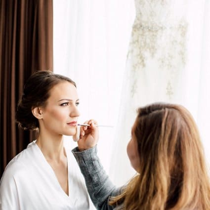 Ford Beauty featured in Emily and Hassan's Modern Fairy Tale Wedding at Malaparte