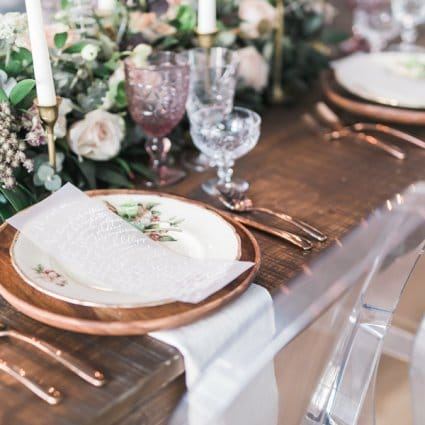 The Perfect Table featured in A Stunning Style Shoot at The Richmond: Bare Your Soul