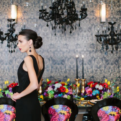 Alicia Jenelle Events featured in An Edgy-Yet-Glam Style Shoot at The One Eighty