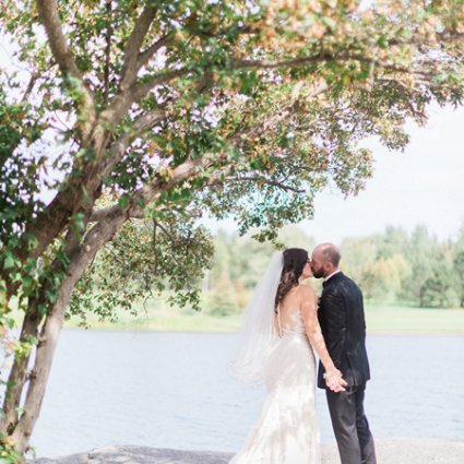 The Manor featured in Hayley and Ivan's Romantic Wedding at The Manor